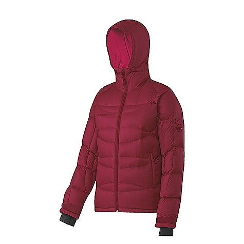 On Sale. Free Shipping. Mammut Women's Pilgrim Jacket DECENT FEATURES of the Mammut Women's Pilgrim Jacket Filled with 190 g 90/10 goose down and 650 cuin fill power Helmet-compatible hood Covered zipper on the collar for when the hood is zipped off 2 side pockets with zips 1 inner pocket Hidden stash pocket Drawcord hem, adjustable using one hand Lycra hand gaiters Chin protection Comfortably soft inside lining Additional packing bag for stowing the jacket in a backpack Areas of Use: Basecamp, Mixed- and Iceclimbing The SPECS Weight: 660 g Face Material: 100% Polyester, 100% Down Filling: Goose Down 90/10, 650 cuin Lining: 100% Polyester - $167.99