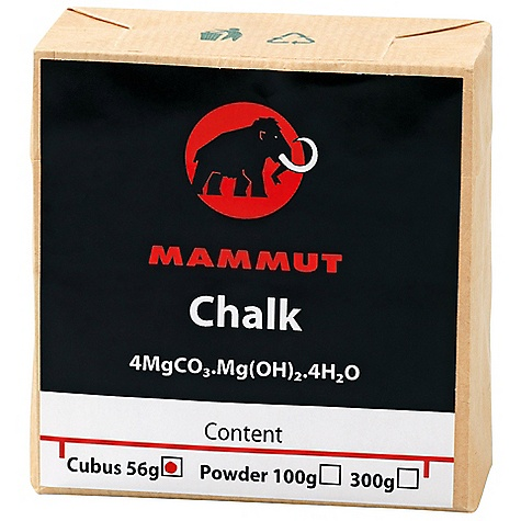 Climbing Mammut Chalk Cubus DECENT FEATURES of the Mammut Chalk Cubus Basic magnesium carbonate in environmentally-friendly recyclable packaging for excellent friction The SPECS Capacity: 56 g ALL CLIMBING SALES ARE FINAL. - $2.50