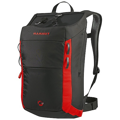 Climbing Free Shipping. Mammut Neon Pro 30 DECENT FEATURES of the Mammut Neon Pro 30 V-frame 5 mm aluminum including framesheet, adjustable and removable Anatomically shaped, padded back and shoulder belts with soft, moisture-transporting stretch fabric cover Stowable hip belt Secure rope attachment thanks to the thermoformed round flap shape and adjustable fixing straps Front zip pocket Chalk bag pouch to keep the rest of your gear clean Internal horizontal and vertical gear loops for better organisation of the load Padded, integrated laptop pocket Daisy chain loop to secure additional gear Gear loops at the side Hydration system compatible The SPECS Weight: 1050 g Volume: 30 liter Back System: Contact V Frame Main: 420D Nylon 1680D Nylon Ballistic - $129.95