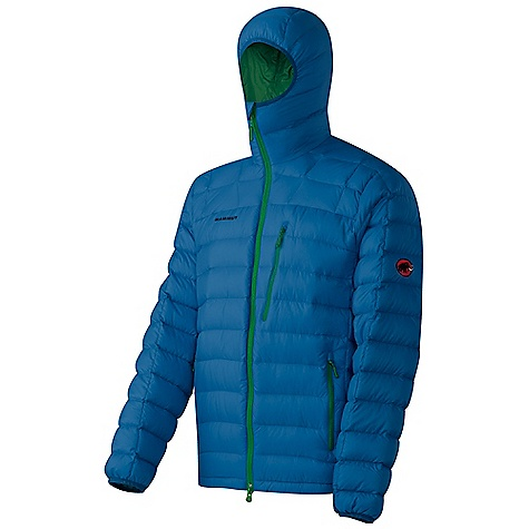 On Sale. Free Shipping. Mammut Men's Broad Peak Hoody Jacket DECENT FEATURES of the Mammut Men's Broad Peak Hoody Jacket Filled with 125 g 90/10 goose down and 750 cuin fill power 1 chest pocket with zip Jacket can be stowed away in the left front pocket 2-way front zip 2 side pockets Drawcord hem, adjustable using one hand Down filled fixed hood Excellent insulation Water-resistant outer material Areas of Use: Classical Alpinism, Mixed- and Iceclimbing, Winterhiking / Snowshoeing The SPECS Weight: 410 g Main Fabric: Pertex Quantum Filling: Goose down 90/10, 750 cuin Lining: Pertex Quantum Face Material: 100% Polyamide, 100% Down - $185.99