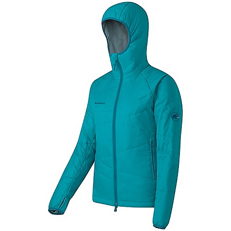 Camp and Hike On Sale. Free Shipping. Mammut Women's Pike Jacket DECENT FEATURES of the Mammut Women's Pike Jacket Innovative synthetic fiber filling with ideal heat properties for stop and go activities, based on Ajungilak 2 phase technology Close fitting, warm hood 2 handy zip pockets with cosy mesh liner Lycra thumb holes Small packing volume, low weight Areas of Use: Classical Alpinism, Winter hiking / Snowshoeing, Basecamp The SPECS Weight: 520 g Main Fabric: 100% Polyester Lining: 100% Polyester Filling: 100% Polyester Face Material: 100% Polyester - $118.99