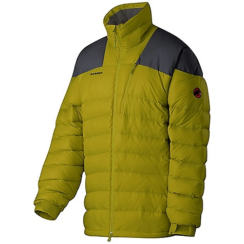 Climbing On Sale. Free Shipping. Mammut Men's Patwin Jacket DECENT FEATURES of the Mammut Men's Patwin Jacket Filled with 200 g 90/10 goose down and 750 cuin fill power Rip-proof Ripstop used as main material Reinforcement material on the shoulders Water-resistant outer material Adjustable waist with drawstring Velcro cuffs 2 side pockets, 1 chest pocket 2 Powermesh inner pockets Chin guard out of soft micro fleece 2-way front zip Excellent insulation Areas of Use: Mixed- and Iceclimbing, Sportsclimbing, Bouldering / Urban Climbing The SPECS Weight: 670 g Main Fabric: Pertex Quantum Filling: Goose down 90/10, 750 cuin Lining: 100% Polyester Face Material: 100% Polyamide, 100% Down - $180.99