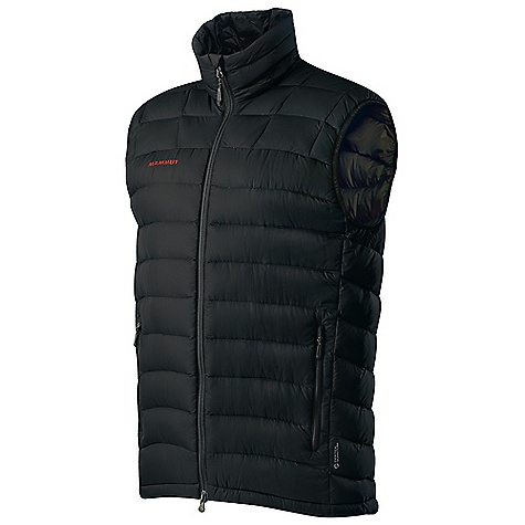 On Sale. Free Shipping. Mammut Men's Broad Peak Vest DECENT FEATURES of the Mammut Men's Broad Peak Vest Very light and warm down vest Filled with 70 g 90/10 goose down and 750 cuin fill power Excellent insulation Water-resistant outer material Drawcord hem, adjustable using one hand 2 hand pockets with zip Jacket can be stowed away in the left front pocket Areas of Use: Expeditions, Sportsclimbing, Mixed- and Iceclimbing The SPECS Weight: 290 g Main Fabric: Pertex Quantum Filling: Goose down 90/10, 750 cuin Lining: Pertex Quantum Face Material: 100% Polyamide, 100% Down - $103.99