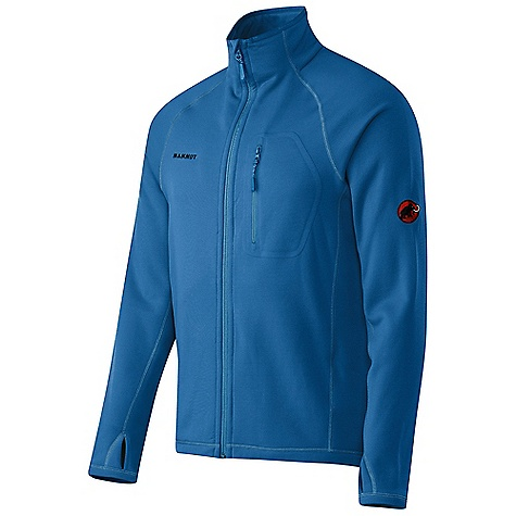 On Sale. Free Shipping. Mammut Men's Aconcagua Jacket DECENT FEATURES of the Mammut Men's Aconcagua Jacket Very robust and abrasion resistant thanks to Polartec(R) Power Stretch(R) Pro(TM) with nylon face Durable and fast-drying outside, soft and warm inside 1 chest pocket Lycra(R) cuffs, hem and collar Lycra(R) thumb holes The SPECS Fabric: Polartec(R) Power Stretch(R) Pro Weight: 435 g - $118.99