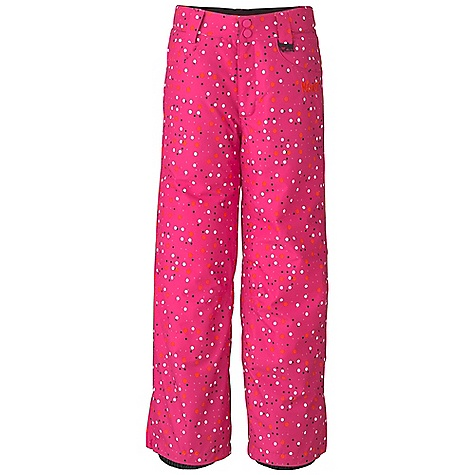 Free Shipping. Marker Girls' Vixen Pant DECENT FEATURES of the Marker Girls' Vixen Pant Strategically Seam Sealed Adjustable External Velcro Waistband Tabs Lower Leg Gusset with Internal Powder Cuff and Gripper Elastic Scuff Guards Multiple Exterior Pockets Jean Pocket Detailing Articulated Knees YKK Zippers CPSIA Approved 25in. Inseam The SPECS 100% Polyester Twill Print 10.000mm Waterproof 5.000mm Breathable Windproof 156g/m2 Brushed Tricot Power Mesh Taffeta 80 GM - $149.50