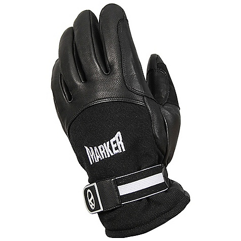 Marker Men's Spring Glove DECENT FEATURES of the Marker Men's Spring Glove Custom Marker Embroidery Full Dexterity Genuine Leather Palm and Finger Construction Velcro Wrist Closure The SPECS Genuine Leather Stretch Nylon - $39.95