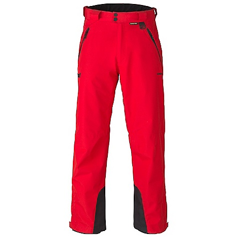 Free Shipping. Marker Men's Meteor Pant DECENT FEATURES of the Marker Men's Meteor Pant Fully Seam Sealed Inner Thigh Ventilation with YKK Zippers and Power Mesh Backing Adjustable Internal Velcro Waistband Tabs Lower Leg Gusset with Internal Powder Cuff and Gripper Elastic Scuff Guards Multiple Exterior Pockets Articulated Knees Alpine Fit YKK Zippers The SPECS Inseam: 29in. Insulation: 100% Polyester 60gm Gore-Tex Performance 2L 100% Polyester Plain Weave 4.5 oz/yd2 - $279.95