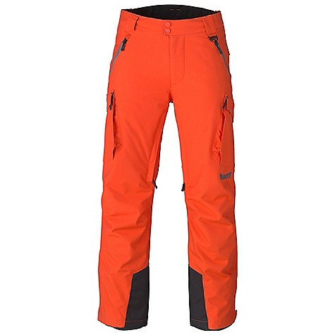Free Shipping. Marker Men's Squadron Pant DECENT FEATURES of the Marker Men's Squadron Pant Fully Seam Sealed Inner Thigh Ventilation with YKK Zippers and Power Mesh Backing Adjustable Internal Velcro Waistband Tabs Internal Powder Cuff with Gripper Elastic Scuff Guards Multiple Exterior Pockets Articulated Knees Relaxed Fit YKK Zippers 31in. Inseam The SPECS 100% Nylon Entrant V Performance Coating Waterproof Breathable Windproof 159g/m2 Brushed Tricot Power Mesh Taffeta 60 GM - $219.95