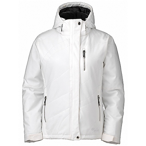 Free Shipping. Marker Women's Vanessa Jacket DECENT FEATURES of the Marker Women's Vanessa Jacket Removable Faux Fur Trim Helmet Ready Zip Off Storm Hood Fully Seam Sealed Multiple Exterior and Interior Pockets Adjustable Cuffs with Velcro Closure Decorative Quilt Top Stitch Flattering Feminine Fit YKK Zippers The SPECS 100% Polyester Stretch 10.000mm Waterproof Breathable Windproof 175g/m2 Brushed Tricot Power Mesh Taffeta 100 GM Body 80 GM Sleeves 40 GM Hood CB Length: 27.5in. - $359.95