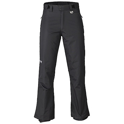 Free Shipping. Marker Men's Gillette Waist Pant DECENT FEATURES of the Marker Men's Gillette Waist Pant Adjustable Internal Velcro Waistband Tabs Articulated Knees Brushed Tricot Lined Pockets Front and Back Hand Pockets Lower Leg Gusset with Internal Powder Cuff and Gripper Elastic Scuff Guards Strategically Seam Sealed YKK Zippers The SPECS Inseam: 31in. 100% Nylon Taslan Dobby 4.4 oz/yd Insulation: 100% Polyester 80gm - $88.95