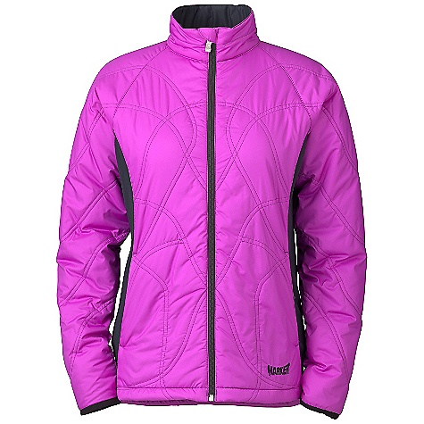 Free Shipping. Marker Women's Kate Quilt Jacket DECENT FEATURES of the Marker Women's Kate Quilt Jacket High Loft Puffy Quilt Internal Draft Flap with Zipper Garage Zippered Handwarmer Pockets Flattering Feminine Fit Decorative Quilt Top Stitch YKK Zippers The SPECS 100% Polyester Microfiber Taffeta 73g/m2 WR Active Stretch 93% Polyester 7% Elastic 230g/m2 Taffeta High Loft 100 GMS CB Length: 26in. - $118.95