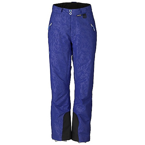 Free Shipping. Marker Women's Eclipse Embossed Pant DECENT FEATURES of the Marker Women's Eclipse Embossed Pant Fully Seam Sealed Inner Thigh Ventilation with YKK Zippers and Power Mesh Backing Adjustable Internal Velcro Waistband Tabs Lower Leg Gusset with Internal Powder Cuff and Gripper Elastic Scuff Guards Multiple Exterior Pockets Articulated Knees Alpine Fit YKK Zippers 31in. Inseam The SPECS Gore-Tex Performance 2L 100% Polyester Embossed Waterproof Breathable Windproof 153 g/m2 Brushed Tricot Power Mesh Taffeta 60 GM Inseam: 29in. - $289.95