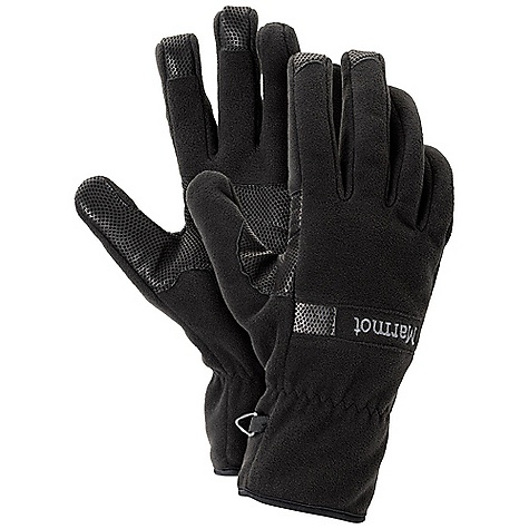 Free Shipping. Marmot Men's Windstopper Glove DECENT FEATURES of the Marmot Men's Windstopper Glove Gore Windstopper Fleece Reinforced Leather Palm Falcon Grip The SPECS Weight: 2.4 oz / 68 g Reinforcement: Washable Digital Hairsheep Leather 0.5 - 0.6mm Gore Windstopper 100% Polyester 8.5 oz/yd - $49.95