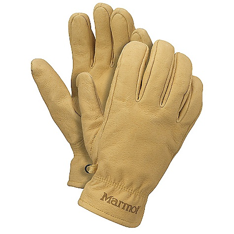 The Basic Work Glove by Marmot. Traditional all leather glove, lined with DriClime for additional comfort. Features of the Marmot Basic Work Glove DriClime Bi-Component wicking Lining Falcon Grip - $39.95