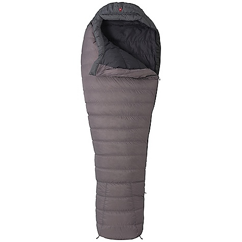 Camp and Hike On Sale. Free Shipping. Marmot Arroyo 30 Degree Sleeping Bag DECENT FEATURES of the Marmot Arroyo 30 Degree Sleeping Bag Certified 800+ Fill Power Goose Down EN Tested Thermo-Pane Foot Box Lightweight 20d Nylon Shell with Silicon DWR Classic Trapezoidal Foot Box Contoured Zipper Down-Filled Draft Tube in.Feelyin. Draw Cords Forward Lean Foot Box Ground-Level Side Seams Hidden Draft Tube Pocket Nautilus6-Baffle Hood Stretch Tricot Baffles Stuff and Storage Sack Included Velcro-free Face Muff Zipper Guards The SPECS Temperature Rating: 30deg F / -1deg C Comfort: 39.9deg F / 4.4deg C Lower Limit:30.7deg F / -0.7deg C Extreme: 2.3deg F / -16.5deg C Zip Option: LZ, RZ Loft: Materials: 100% Nylon Silicone DWR 1.05 oz/yd, Lining: 100% Nylon WR 1.4oz/yd, Insulation: 800+ Fill Power Goose Down The SPECS for Regular Size: 6'0in. Weight: 1 lb 11 oz / 765 g Fill Weight: 11.05 oz / 313 g The SPECS for Long Size: 6'6in. Weight: 1 lb 15 oz / 879 g Fill Weight: 13.45 oz / 381 g - $223.99