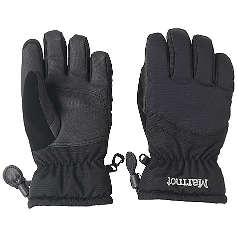 Marmot Boys Glade Glove DECENT FEATURES of the Marmot Boys' Glade Glove Marmot MemBrain Waterproof/Breathable Insert High Loft Fleece Lining Falcon Grip Internal Heater Pocket The SPECS Weight: 4.7 oz / 133.2 g Reinforcement: Polyurethane 0.7mm Insulation: Thermal R - 150 Glove Insert: MemBrain Glove Insert - Waterproof, Breathable and Windproof 100% Nylon WR 4.8 oz/yd 100% Nylon WR 6.8 oz/yd - $34.95