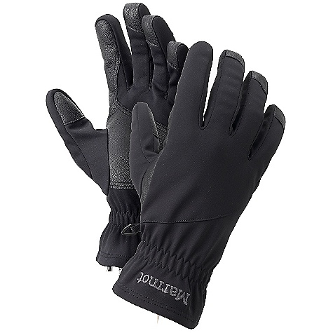 The Evolution Glove by Marmot. The Evolution utilizes Gore's top-quality Windstopper fabric to make a light, wind-blocking, precip resistant glove for biking, cross-country skiing and running. Features of the Marmot Evolution Glove Marmot M1 Softshell Fabric Leather Reinforced Palm Falcon Grip - $44.95