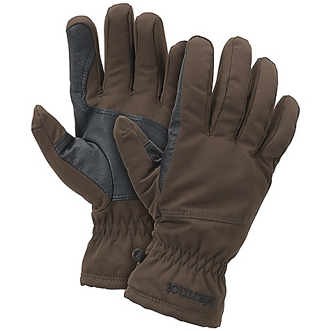 On Sale. Marmot Butte Glove DECENT FEATURES of the Marmot Butte Glove Falcon Grip High Loft Fleece Lining Leather Reinforced Palm The SPECS Weight: Large: 8.2 oz / 232.5 g Material: 100% Nylon AC 5.3 oz/yd Reinforcement: Washable Goatskin Leather 0.6 - 0.8mm Lining: High Loft Fleece for Increased Warmth and Comfort - $30.99