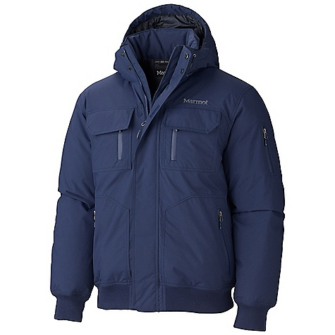 On Sale. Free Shipping. Marmot Men's Aviate Jacket DECENT FEATURES of the Marmot Men's Aviate Jacket Marmot MemBrain Waterproof / Breathable Fabric Zip-Off Down-Filled Hood Hand warmer Pockets with Water Resistant Zipper Chest Pocket with Water- Resistant Zipper Sleeve Pocket with Water-Resistant Zipper Rib Knit Cuffs and Waistband Inside Zip Pocket DriClime Lined Chin Guard The SPECS Weight: 3 lbs 5 oz / 1502.5 g Center Back Length: 28in. Fit: Regular Material: MemBrain 2L 100% Nylon 4.0 oz/yd - $232.99