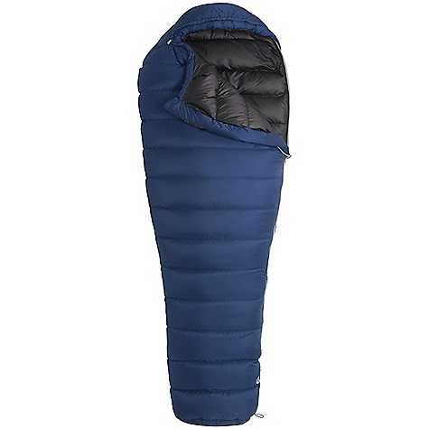 Camp and Hike Free Shipping. Marmot Helium 15 Degree Sleeping Bag DECENT FEATURES of the Marmot Helium 15 Degree Sleeping Bag Filled and Finished in Santa Rosa, California Certified 850+ Fill Power Goose Down EN Tested Pertex Microlight Shell and Lining Fabric Passive Collar Nautilus 6-Baffle Hood Classic Trapezoidal Foot Box Stretch Tricot Baffles Full Length Zipper Zipper Garage Hood Draw Cord Insulated Draft Tube Stuff and Storage Sack Included Velcro-free Face Muff Zipper Guards The SPECS Temperature Rating: 15deg F / -9deg C EN Tested Comfort: 27.7deg F / -2.4deg C EN Tested Lower Limit: 16.3deg F / -8.7deg C EN Tested Extreme: -16.6deg F / -27deg C Zip Option: Left Zip Fill: 850+ Fill Power Goose Down Insulation: 850+ Fill Power Goose Down Lining: 20 Denier 100% Recycled Polyester Mini Ripstop DWR 1.0 oz/yd 20 Denier 100% Nylon Mini Ripstop DWR 1.1 oz/yd The SPECS for Regular Weight: 2 lbs 2.6 oz / 981 g Length: 6'0in. The SPECS for Long Weight: 2 lbs 6 oz / 1077 g - $398.95