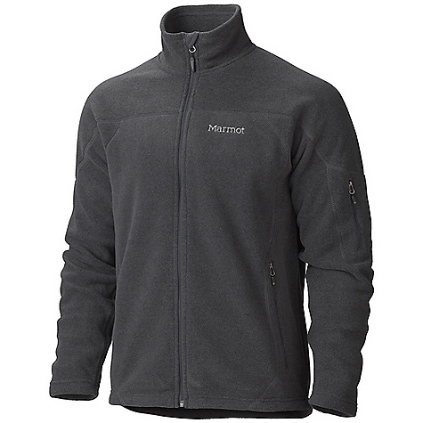 On Sale. Free Shipping. Marmot Men's Radiator Jacket DECENT FEATURES of the Marmot Men's Radiator Jacket Polar Tec Classic 200wt Heather Classic Fleece Zippered Hand warmer Pockets Zippered Sleeve Pocket Flat Lock Seams Wind Flap Behind Front Zipper with Chin Guard Elastic Draw Cord Hem Angel-Wing Movement The SPECS Weight: 1 lb 2 oz / 510.3 g Center Back Length: 28.25in. Fit: Regular Material: Polar Tec Classic 200 100% Polyester Micro Heather Fleece 8.1 oz/yd - $80.99