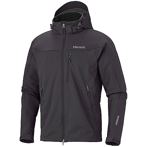 Free Shipping. Marmot Men's Super Hero Jacket DECENT FEATURES of the Marmot Men's Super Hero Jacket Gore Windstopper Marmot M2 Softshell Windproof, Water Resistant, and Breathable Zip-Off Softshell Hood Zonal Construction Underarm Venting Gussets Pack Pockets Zippered Chest Pocket Reinforced Shoulders and Sleeves Adjustable Velcro Cuff Elastic Draw Cord Hem Inside Zip Pocket DriClime Lined Chin Guard Angel-Wing Movement The SPECS Weight: 1 lb 7.3 oz / 661 g Center Back Length: Medium: 28 1/2in. Materials: Windstopper Softshell 100% Polyester Stretch 5.4 oz/ yd, Windstopper Softshell 81% Nylon 15% Polyester 4% Elastane Stretch 9.5 oz/yd - $284.95