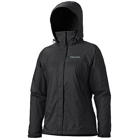 On Sale. Free Shipping. Marmot Women's Streamline Jacket DECENT FEATURES of the Marmot Women's Streamline Jacket 2L PreCip Waterproof/Breathable Fabric 100% Seam Taped Full Visibility Roll-Up Hood with Peripheral Cord Adjustment and Integral Collar PitZips DriClime Lined Zippered Handwarmer Pockets Double Storm Flap Over Zipper with Snap/Velcro Closure Full DriClime Interior Lining Angel-Wing Movement Elastic Draw Cord Hem DriClime Lined Chin Guard The SPECS Weight: 1 lb 2.1 oz / 513 g Center Back Length: Medium: 27in. Materials: PreCip 2L 100% Nylon 2.8 oz/yd - $98.99