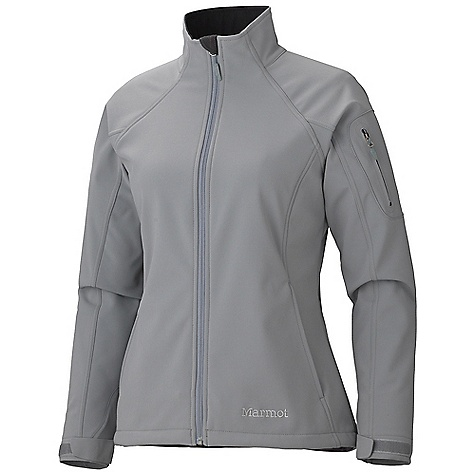 On Sale. Free Shipping. Marmot Women's Gravity Jacket DECENT FEATURES of the Marmot Women's Gravity Jacket Marmot M1 Softshell Windproof, Water Resistant, and Breathable Zippered Handwarmer Pockets Laser-Drilled Sleeve Pocket Adjustable Velcro Cuff Inside Zip Pocket Elastic Draw Cord Hem Dri-Clime Lined Collar and Chin Guard Angel-Wing Movement The SPECS Weight: 1 lb 5.8 oz / 618 g Center Back Length: 25.5in. Fit: Regular Softshell WPB 88% Nylon 12% Elastane 9.2 oz/yd - $96.99
