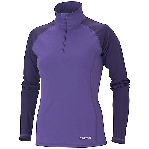 On Sale. Free Shipping. Marmot Women's Lightweight Zip Neck LS DECENT FEATURES of the Marmot Women's Lightweight Zip Neck Long Sleeve Polartec Power Dry with Cocona Performance Technology Flat Lock Construction Fabric Stretch Ensures Perfect Fit Tag-Free Neckline Quick Dry Wicking Moisture Management Natural Anti-odor Management Sized Specifically for Women The SPECS Weight: 5.3 oz / 150.3 g Center Back Length: 24.75in. Fit: Athletic Fit Material: Polartec Power Dry 100% Polyester (29% Cocona) Light Weight 3.5 oz/yd - $37.99