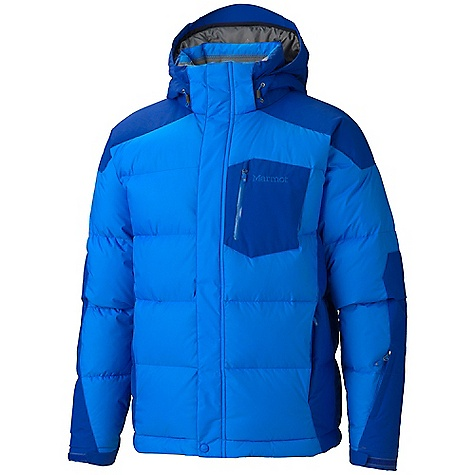 Free Shipping. Marmot Men's Shadow Jacket DECENT FEATURES of the Marmot Men's Shadow Jacket Marmot MemBrain Waterproof/Breathable Fabric 650 Goose Down Fill Power Reinforced Shoulders and Sleeves Zip-off Storm Hood with Bonded Brim PitZips Zippered Handwarmer Pockets Chest Pocket with Water-Resistant Zipper Waist Pass Pocket Zip-off Powder Skirt Zippered Sunglass Pocket Mesh Goggle Pocket Interior Media Pocket HD Brushed Tricot Collar and Shoulder Lining Elastic Draw Cord Hem Adjustable Velcro Cuff Angel-Wing Movement The SPECS Weight: 2 lbs 9.8 oz / 1185 g Center Back Length: 29.625in. Fit: Regular MemBrain 2L 100% Nylon 3.0 oz/yd MemBrain 10 100% Nylon Oxford 5.4 oz/yd - $324.95