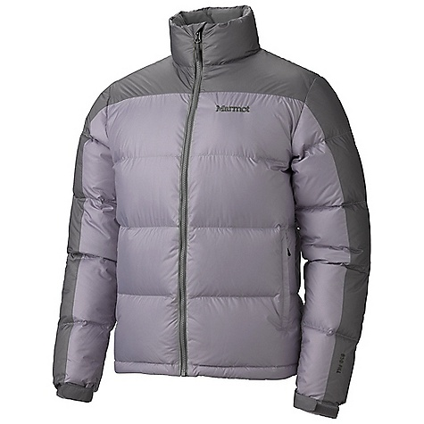 On Sale. Free Shipping. Marmot Men's Guides Down Sweater DECENT FEATURES of the Marmot Men's Guides Down Sweater DriClime Lined Chin Guard Zippered Handwarmer Pockets Interior Zipper Pocket Wind Flap Behind Front Zipper Adjustable Velcro Cuff Elastic Draw Cord Hem Angel-Wing Movement The SPECS Weight: 1 lb 4.8 oz / 590 g Center Back Length: Medium: 27 1/2in. Materials: 100% Polyester Ripstop DWR 1.6 oz/yd, Lining: 100% Polyester Embossed WR 1.3 oz/yd - $118.99