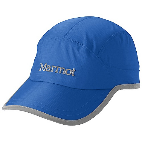 Sports Marmot PreCip Baseball Cap DECENT FEATURES of the Marmot PreCip Baseball Cap 7 Panel Hat for a Great Fit Dri-Clime Sweatband Seamsealed for Waterproof Protection Velcro Closure The SPECS Weight: 1.83 oz / 51.9 g Lining: Dri-Clime 100% Polyester Lining 2.7 oz/yd PreCip 2.5 100% Nylon Ripstop 2.7oz/yd 100% Polyester Mesh Lining 2.0 oz/yd - $27.95