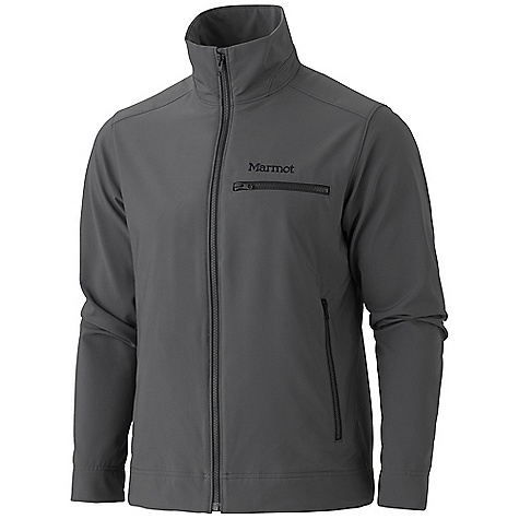 Free Shipping. Marmot Men's Eastside Jacket DECENT FEATURES of the Marmot Men's Eastside Jacket Marmot M3 Softshell Water Repellent and Breathable Zip Chest Pocket Zippered Hand Pockets Interior Zippered Pocket Interior Media Pocket DriClime Lined Cuffs The SPECS Weight: 1 lb 5.2 oz / 601 g Center Back Length: 26.5in. Fit: Regular Softshell Double Weave: 96% Polyester, 4% Elastane Stretch 6.8 oz/yd - $139.95