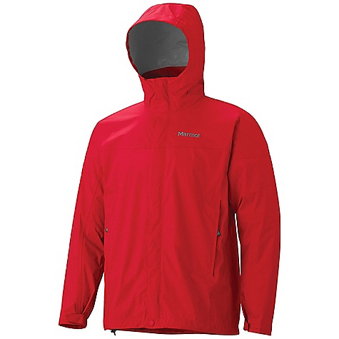 Free Shipping. Marmot Men's PreCip Jacket DECENT FEATURES of the Marmot Men's PreCip Jacket PreCip Dry Touch Technology, Waterproof / Breathable 100% Seam Taped Full Visibility Roll - Up Hood with Integral Collar PitZips Pack Pockets Double Storm Flap Over Zipper with Snap/Velcro Closure Elastic Draw Cord Hem Dri-Clime Lined Chin Guard Angel-Wing Movement The SPECS Weight: 13.1 oz / 371.4 g Center Back Length: 29in. Fit: Regular PreCip 2.5 100% Nylon Ripstop 2.7 oz/yd - $99.95