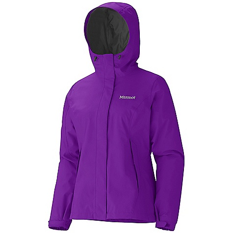 Free Shipping. Marmot Women's Storm Shield Jacket DECENT FEATURES of the Marmot Women's Storm Shield Jacket 2L PreCip Waterproof/Breathable Fabric 100% Seam Taped Fully Lined with Mesh and Taffeta Handwarmer Pockets Double Storm Flap Over Zipper with Snap/Velcro Closure Elastic Draw Cord Hem The SPECS Fit: Regular MemBrain 10 100% Nylon Plain Weave 4.5 oz/yd - $124.95