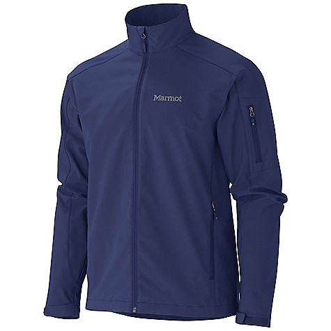 Free Shipping. Marmot Men's Approach Jacket DECENT FEATURES of the Marmot Men's Approach Jacket Marmot M3 Softshell Water Repellent and Breathable Zip Sleeve Pocket Zippered Handwarmer Pockets Adjustable Velcro Cuff Elastic Draw Cord Hem The SPECS Weight: 1 lb 4.5 oz / 581.2 g Center Back Length: 27.75in. Fit: Regular Softshell Double Weave: 96% Polyester, 4% Elastane Stretch 6.8 oz/yd - $99.95