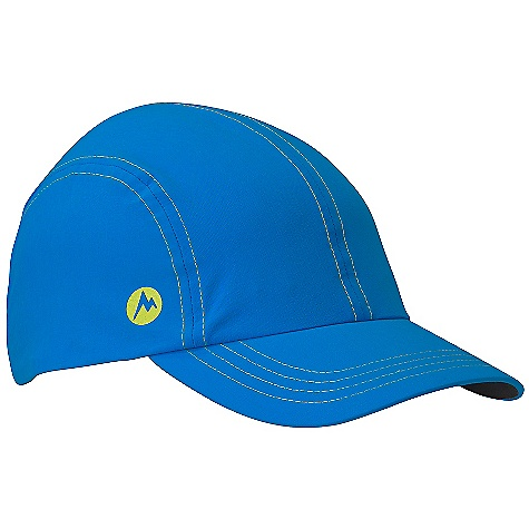 Fitness Marmot Daroga Running Cap DECENT FEATURES of the Marmot Daroga Running Cap Stretch Soft-shell Fabric for Added Comfort Adjustable Velcro Back UPF Protection DriClime Sweatband The SPECS Weight: 1.87 oz / 53 g Material: 96% Nylon, 4% Elastane Plain Weave 4.5 oz/yd - $25.00