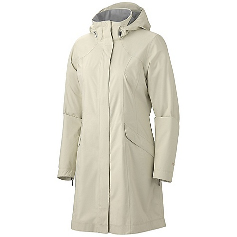 Free Shipping. Marmot Women's Highland Jacket DECENT FEATURES of the Marmot Women's Highland Jacket Marmot MemBrain Strata Waterproof/Breathable Fabric 100% Seam Taped Zip-Off Hood Zip Hand Pockets DriClime Lined Collar The SPECS Weight: 11.7 oz / 331.7 g Material: MemBrain Strata 100% Nylon Ripstop Stretch 2.8 oz/yd Center Back Length: 34in. Fit: Regular - $199.95