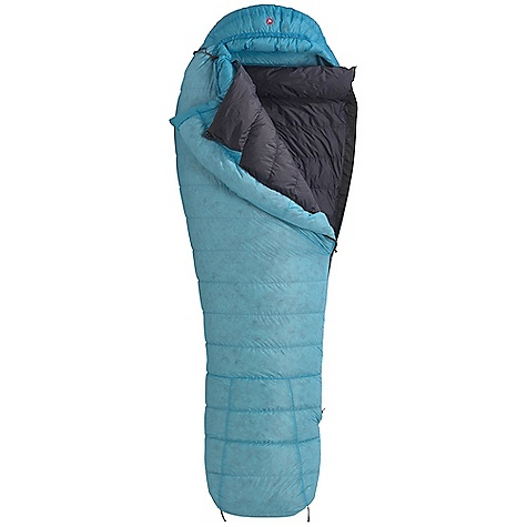 Camp and Hike Free Shipping. Marmot Women's Pinnacle 15 Degree Sleeping Bag DECENT FEATURES of the Marmot Women's Pinnacle 15 Degree Sleeping Bag Filled and Finished in Santa Rosa, California Certified 800+ Fill Power Goose Down EN Tested Women's Specific Fit - More Insulation in Key Areas Thermo-Pane Foot Box Classic Trapezoidal Foot Box Contoured Zipper Down filled Collar with Easy Access Draw Cord Down-Filled Draft Tube in.Feelyin. Draw Cords Forward Lean Foot Box Ground-Level Side Seams Hidden Draft Tube Pocket Lightweight 20d Nylon Shell with Silicon DWR Nautilus 6-Baffle Hood Stretch Tricot Baffles Stuff and Storage Sack Included Velcro-free Face Muff Zipper Guards Updated EN 13537 Rating The SPECS Temperature Rating: 15deg F / -9deg C Comfort: 15.6deg F / -9.1deg C Lower Limit: 2.3deg F / -16.5deg C Extreme: -35.1deg F / -37.3deg C Zip Option: LZ, RZ Size: regular: 5'6in. Weight: 2 lbs 12 oz / 1247 g Fill Weight: 26.46 oz / 750 g Loft: 6in. Girth: 58in. / 147.32 cm Hip: 58in. / 147.32 cm Foot: 38in. / 96.52 cm Stuff Sack: 7.5 x 7.5in. / 19 x 40.6 cm Material: 100% Nylon Silicone DWR 1.05 oz/yd Lining: 100% Nylon WR 1.4 oz/yd Insulation: 800+ Fill Power Goose Down - $358.95