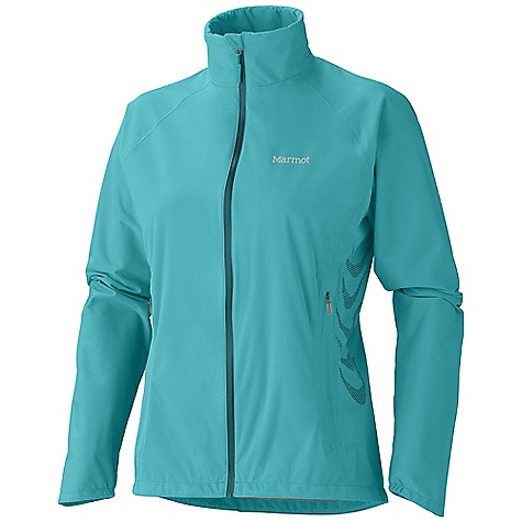 On Sale. Free Shipping. Marmot Women's Paceline Jacket DECENT FEATURES of the Marmot Women's Paceline Jacket Marmot MemBrain 2.5 Waterproof/Breathable Fabric 100% Seam Taped - For Full Waterproofness Water Resistant Front Zipper - WR Front Zipper Hand Pockets with Concealed Zippers Stretch Anatomic Articulation - Stretch Fabric and Design Feature Reduces Excess Fabric and Improves Mobility Collar Cord - Allows You to Cinch in Collar When Weather is Bad Interior Zipper Pocket Asymmetric Cuffs with Elastic Reflective Logos Elastic Draw Cord Hem - For Adjustability in Serious Weather Angel-Wing Movement - Allows Full Range of Motion in Arms so Jacket Doesn't Ride Up The SPECS Weight: 8.2 oz / 232.5 g Center Back Length: Medium: 25.25in. / 64.1 cm Materials: MemBrain Strata 100% Nylon Stretch 1.6 oz/yd - $79.99