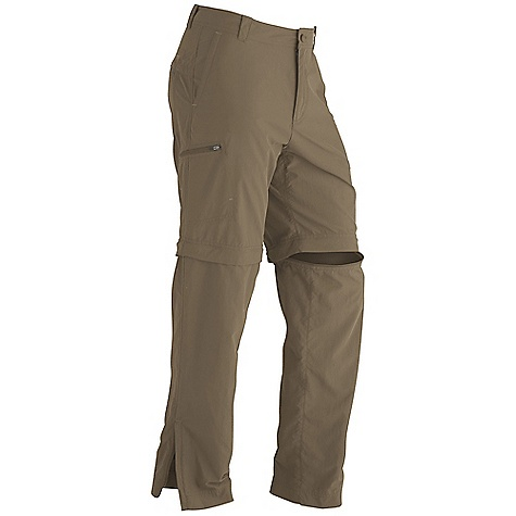 Free Shipping. Marmot Men's Cruz Convertible Pant DECENT FEATURES of the Marmot Men's Cruz Convertible Pant Blue Sign Approved Fabric Packable, Breathable, Lightweight Performance Woven Fabric Ultraviolet Protection Factor (UPF) 50 Abrasion Resistant Nylon Quick-Drying and Wicking Durable Water-Resistant Finish (DWR) Gusseted Crotch for Increased Mobility Pant Legs Zip Off to Convert Into a 10in. Inseam Short Secure Zip Back Pocket and Side Pocket Side Leg Zips for Easy On and Off Dri-Clime Interior Waistband for Added Comfort The SPECS Weight: 11.5 oz / 326 g Inseam: short: 30in., regular: 32in. Fit: Relaxed 100% Nylon Peached DWR 3.6 oz/yd - $77.95