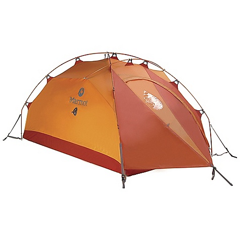 Camp and Hike Free Shipping. Marmot Alpinist 2 Person Tent DECENT FEATURES of the Marmot Alpinist 2 Person Tent DAC NSL Dual Diameter Green Poles Marmot Knees System Marmot MemBrain Assault 3L Fabric Retractable Vestibule Air Flow Ceiling Vents Adjustable Air Flow Ventilator Attached Vestibule Factory Seam Taped Knees Pole System Storm Pitch Superior Pole Structure The SPECS Capacity: 2 Person Floor Area: 30 square feet / 2.8 square meter Minimum Weight: 4 lbs 15 oz / 2240 g Pack Weight: 5 lbs 8 oz / 2490 g Dimension: (H x W x L): 40 x 50 x 88in. / 102 x 122 x 224 cm Vestibule Area: 8 square feet / 0.7 square meter Packed Size: 20 x 8in. / 51 x 20 cm Number/Pole Type: 3 / DAC Featherlite NSL 9mm/9.6mm Fly: 40d 100% HT Polyester Assault MemBrain 3L W/R, F/R Floor: 70d 100% Nylon 5000mm W/R, F/R - $638.95