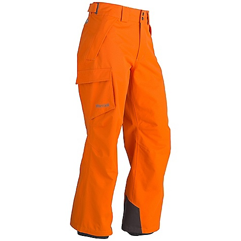 Free Shipping. Marmot Men's Motion Pant FEATURES of the Marmot Men's Motion Pant Marmot MemBrain Waterproof/Breathable Fabric 100% seam taped 2-layer construction Zippered Hand Pockets Flapped Cargo Pocket Adjustable Snap Closure Waist with Fly Zip Internal Gaiters with Gripper Elastic Articulated Knees - $144.95