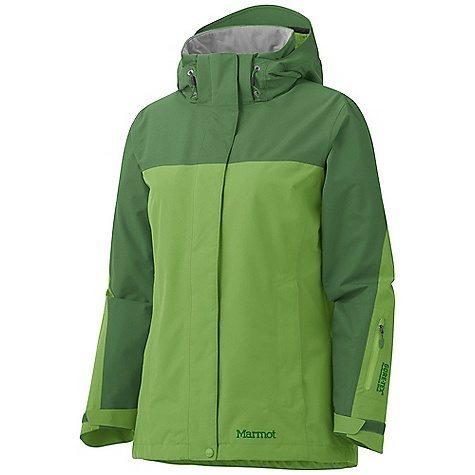 On Sale. Free Shipping. Marmot Women's Palisades Jacket DECENT FEATURES of the Marmot Women's Palisades Jacket Gore-Tex Performance Shell 100% seam taped 2-layer construction Removable Storm Hood with Laminated Brim PitZips Zippered Hand Pockets Wrist Pocket with Water-Resistant Zipper Zip-off Powder Skirt Internal Zip Pocket Paneled Mesh Lining Zippin Compatible DriClime Lined Chin Guard Elastic Draw Cord Hem Angel-Wing Movement Updated with Longer Zip-In Compatible Zipper and Revised Fit The SPECS Weight: 1 lb 11.5 oz / 780 g Center Back Length: Medium: 28in. Materials: Gore-Tex Performance 2L 100% Polyester 4.2 oz/yd, Lining: 100% Polyester Embossed WR 1.3 oz/yd - $199.99