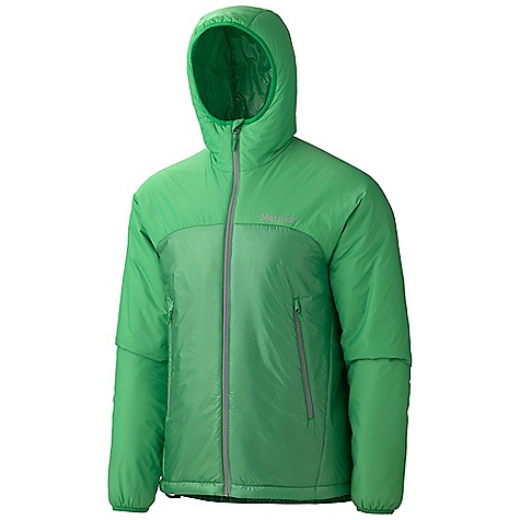 On Sale. Free Shipping. Marmot Men's Baffin Hoody DECENT FEATURES of the Marmot Men's Baffin Hoody Ultra Light 15 Denier Fabric Thermal R Eco Insulation Attached Hood Pack Pockets Interior Zippered Pocket Interior Mesh Storage Pocket DriClime Lined Chin Guard Elastic Draw Cord Hem Packs into Pocket Angel-Wing Movement The SPECS Weight: 15.5 oz / 439.4 g Center Back Length: 29in. Fit: Regular Material: 100% Nylon Ripstop DWR 0.8 oz/yd - $118.99