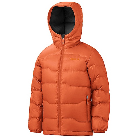 Motorsports On Sale. Free Shipping. Marmot Boy's Ama Dablam Jacket DECENT FEATURES of the Marmot Boys' Ama Dablam Jacket Ultra Light Down Proof Fabric 650 Goose Down Fill Power Elastic Draw Cord Hem Zippered Hand warmer Pockets Elastic Cuffs Wind Flap Behind Front Zipper Shaped Hem/Dropped Tail The SPECS Weight: 12.2 oz / 345.9 g Material: 100% Polyester DWR Ripstop 1.2 oz/yd Center Back Length: 21.75in. Fit: Regular - $86.99