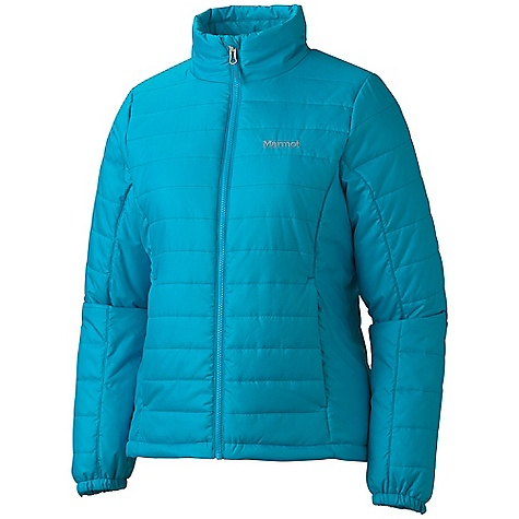 Free Shipping. Marmot Women's Brilliant Jacket DECENT FEATURES of the Marmot Women's Brilliant Jacket Thermal RE co Insulation Zippered Hand Pockets Inside Zip Pocket Elastic Draw Cord Hem Angel-Wing Movement Zippin Compatible The SPECS Weight: 14.8 oz / 419.6 g Material: 100% Polyester Ripstop DWR2.3 oz/yd Center Back Length: 24in. Fit: Regular - $139.95