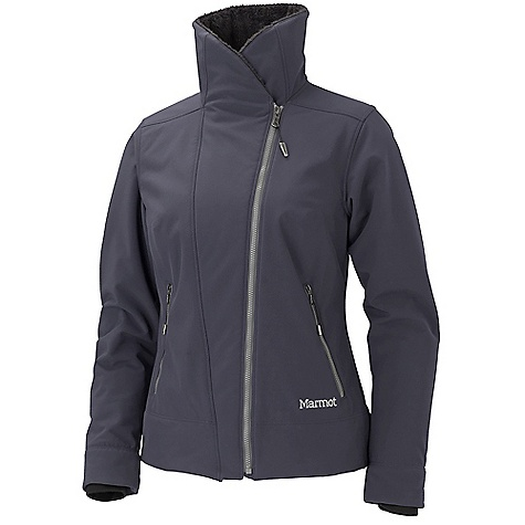 On Sale. Free Shipping. Marmot Women's Christy Jacket DECENT FEATURES of the Marmot Women's Christy Jacket Marmot M1 Soft-shell Windproof, Waterproof, and Breathable, 4 Way Stretch High Loft Soft-shell Fabric Exposed Riri Water Resistant Center Front Zipper Handwarmer Pockets with Riri Water Resistant Zippers Micro Fleece Internal Cuffs The SPECS Weight: 1 lb 2.4 oz / 521.6 g Material: Soft-shell WPB 86% Polyester, 14% Elastane 11.8 oz/yd Center Back Length: 24.5in. Fit: Regular - $155.99