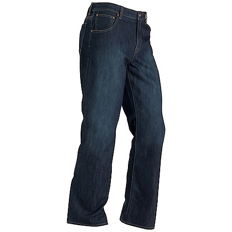 Free Shipping. Marmot Men's Pipeline Jean - Relaxed Fit DECENT FEATURES of the Marmot Men's Pipeline Jean - Relaxed Fit Coolmax Ultraviolet Protection Factor (UPF) 50 Moisture Management and Breathability Stretch for Increased Mobility 5 Pocket Back Pockets are Reinforced for Durability Dark Indigo Denim with Light Hand Sanding Relaxed Straight Leg Cut The SPECS Weight: 1 lb 5.2 oz / 601 g Inseam: short: 30in., regular: 32in., long: 34in. Fit: Relaxed 74% Cotton 26% Coolmax 10.9oz/yd - $84.95