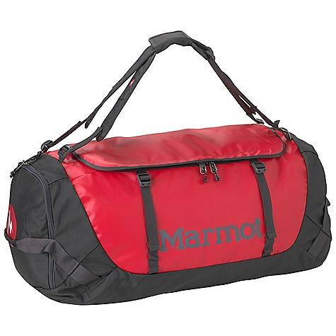 Entertainment Free Shipping. Marmot Long Hauler Duffle Bag DECENT FEATURES of the Marmot Long Hauler Duffle Bag Removable Shoulder Strap Carrying Handles Large D-Shaped Main Zipper with Rain Flap Integrated Lash Points for Expedition Hauling Durable PVC Free Tarpaulin and Ballistic Locking Zippers - Keeps the Bag from Opening Up in the Middle of the Night Ergonomic Grip Haul Loops on Both Ends Interior Zippered Pocket Extremely Durable 1680d Ballistic Nylon on Bottom and Side Panels Zippered Pocket on End to Secure Smaller Items The SPECS Weight: 2 lbs 3 oz / 992 g Volume: 3070 cubic inches / 50 liter Reinforcement: 1680d Ballistics Nylon 1000D TPE Laminate (Phthalate-Free) 1680d Ballistics Nylon - $98.95